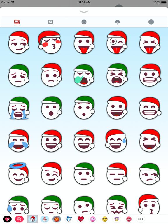 100 Pics Christmas Emoji.Christmas Emoji Stickers App Price Drops