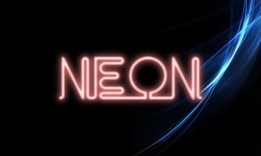 Neon TV - Animated Neon Sign / Image Maker icon