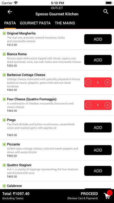 Spesso Gourmet Kitchen screenshot four