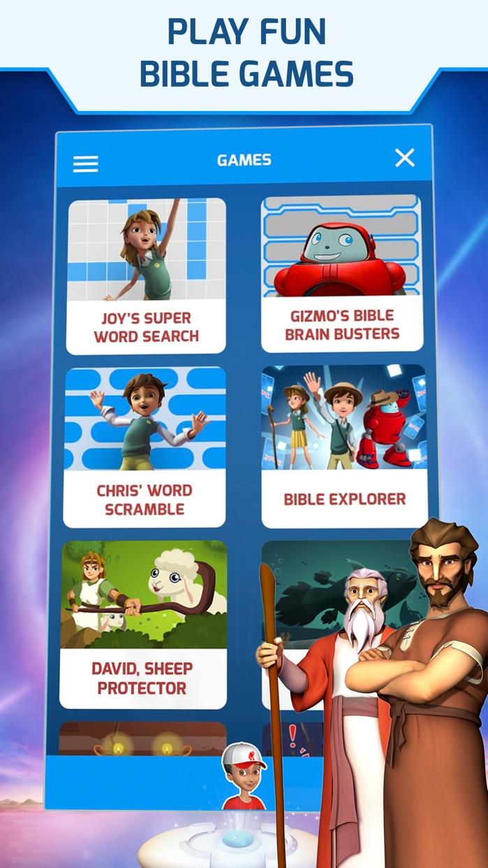 Superbook Kids Bible Screenshot