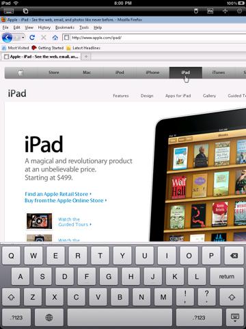 Скриншот из iRemoteDesktop Lite