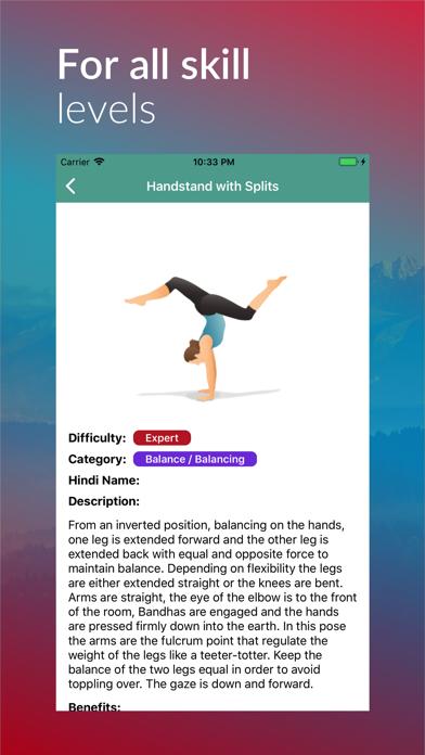Yoga Asanas and Poses Guide screenshot three