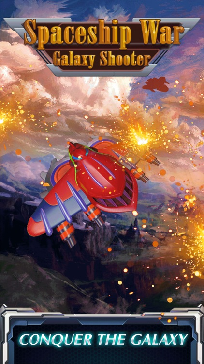 Spaceship war : Galaxy shooter screenshot-5