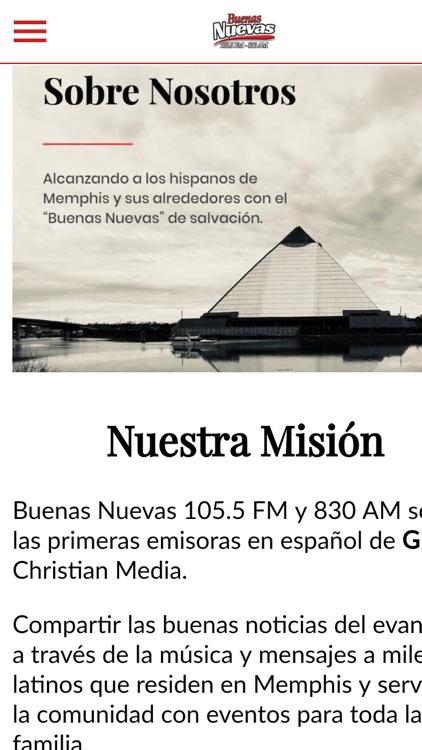 Buenas Nuevas 105.5 FM screenshot-3