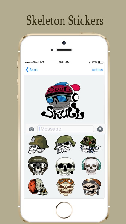 Skelton Army Stickers Pack