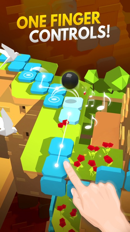 Dancing Ball World: Music Game screenshot-1