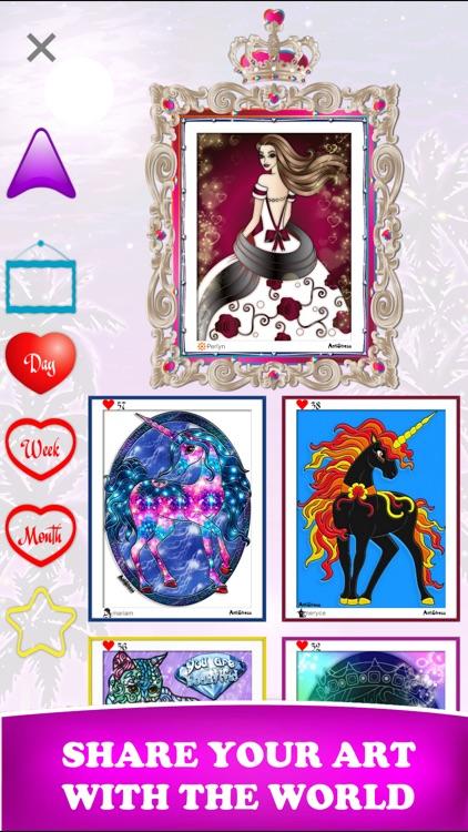 AntiStress Adult Coloring Book screenshot-4