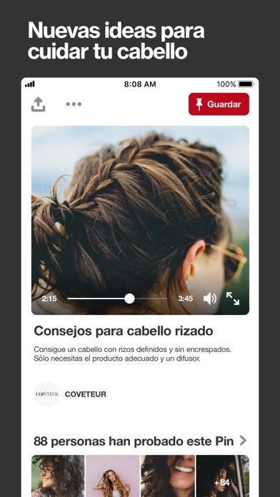 Screenshot for Pinterest in Spain App Store