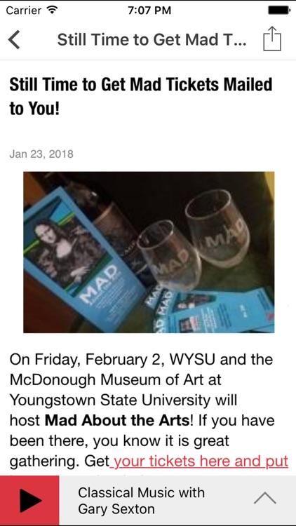 WYSU Public Radio App screenshot-4