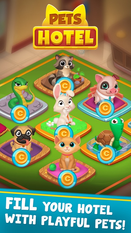 Pets Hotel - Idle Management screenshot-0