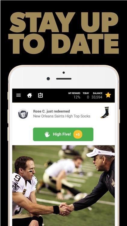 New Orleans Football Rewards screenshot-3