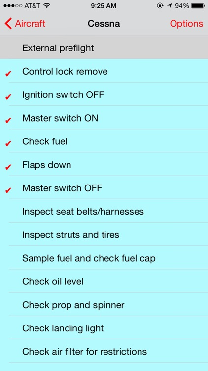 Pilots Checklist screenshot-2