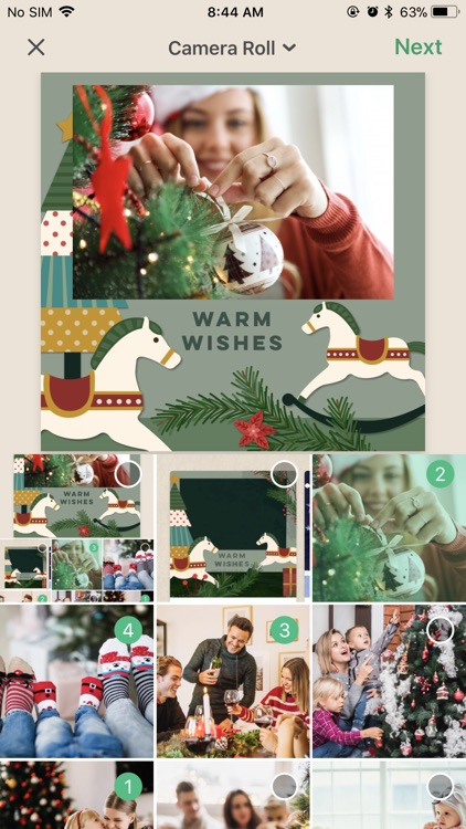 Pine 3D Greeting Cards screenshot-0