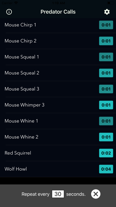 Coyote Calls & Predator Sounds screenshot 2