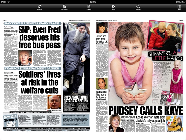 Daily Record Newspaper App screenshot-3