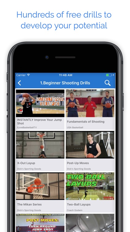 Hustle Sports Training Drills screenshot-3