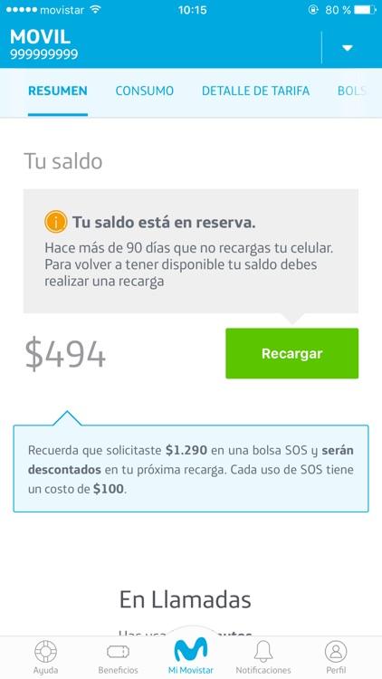 Mi Movistar. screenshot-3