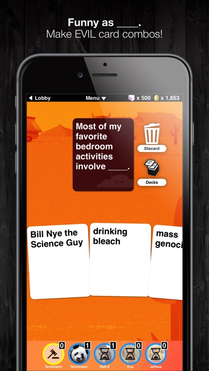 Evil Apples: Dirty as ____.