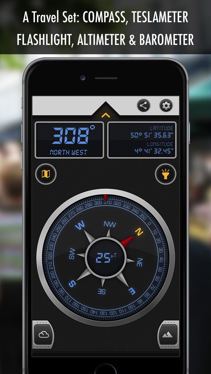 Compass 12: GPS Magnetic North Screenshot