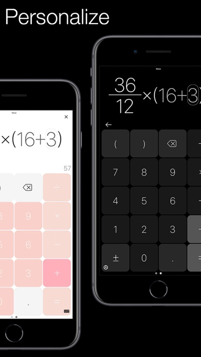 Screenshot of Plain Calculator Pro App