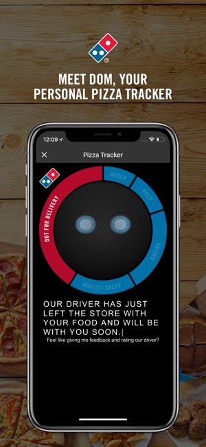 Domino S Pizza On The App Store