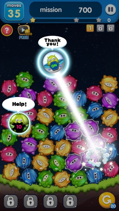 Star Link-Pokki Pop screenshot 3