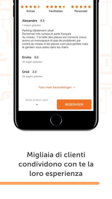 Screenshot for Parclick - Trovare parcheggio in Italy App Store