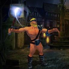 Activities of Medieval hammer hero Asgardian