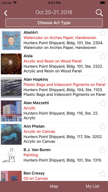 ArtSpan SF Open Studios screenshot-1