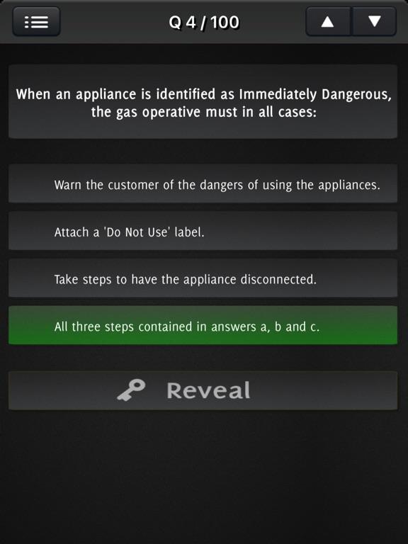 Natural Gas Safety Exam screenshot 5