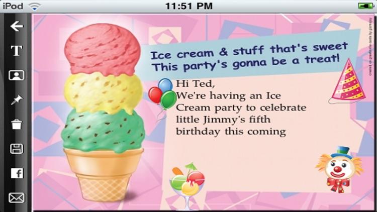 greetinvite-PARTY INVITES iPhone edition screenshot-4