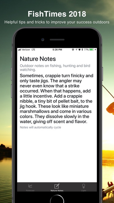 FishTimes by DataSport, INC Screenshot