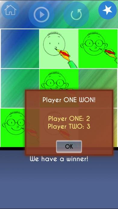 3 in a Line Tic Tac Toe Game Screenshot 5