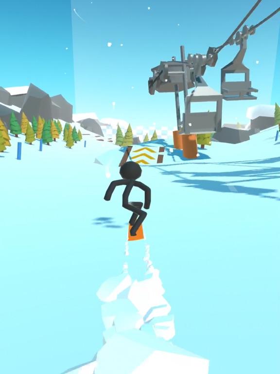 Stickman Snow Ride screenshot 4