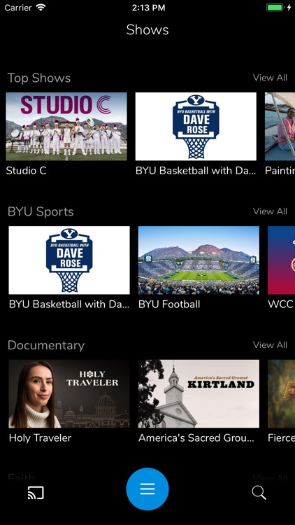 BYUtv screenshot-1