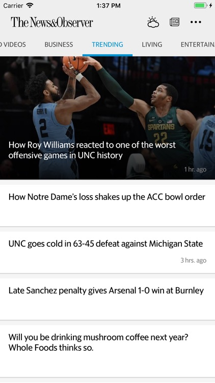 The Raleigh News & Observer screenshot-3