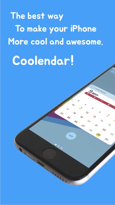 Coolendar - Widget Calendar screenshot 1