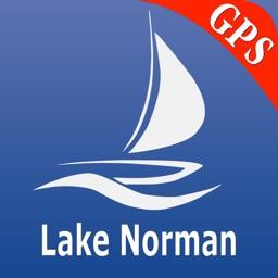 Lake Norman GPS Nautical Chart
