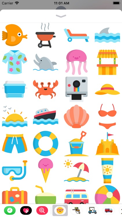 The Summer Sticker Pack