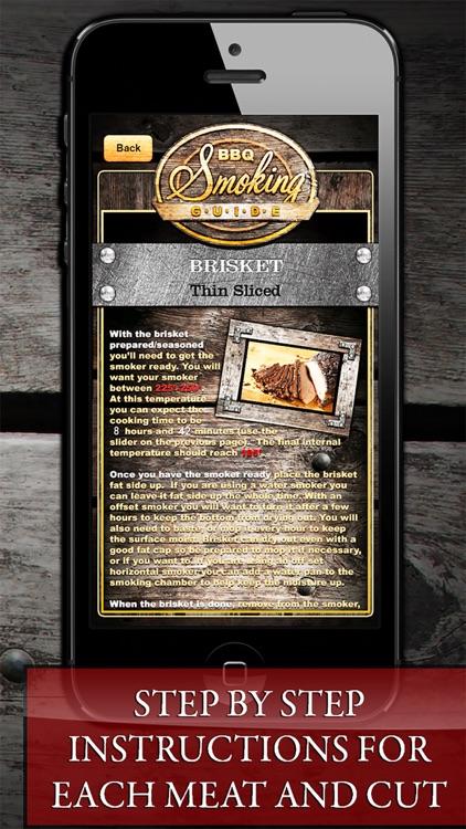BBQ Smoking Cooking Guide! screenshot-3
