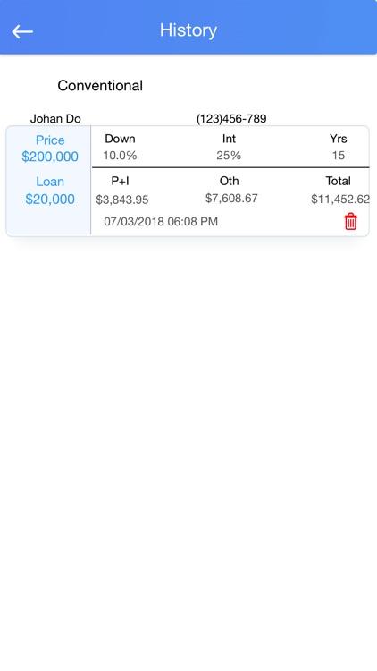Mortgage Calculator- Lite screenshot-4