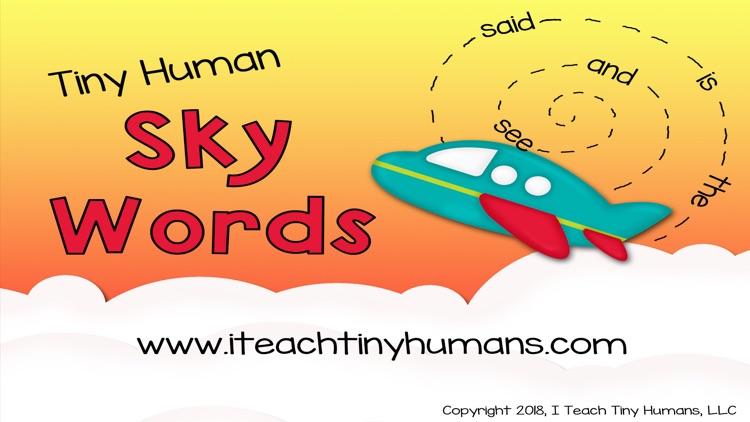 Tiny Human Sky Words screenshot-9