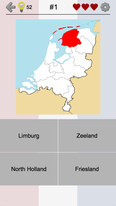 Provinces of the Netherlands screenshot one