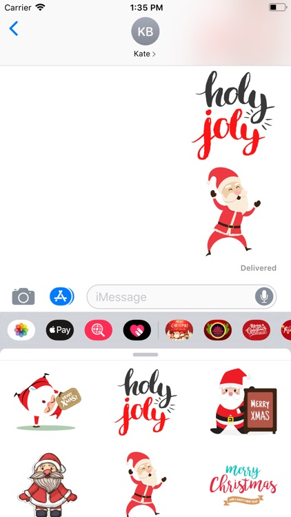 Countdown! Christmas Stickers