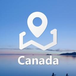 加拿大中文地图-加拿大Canada离线导航