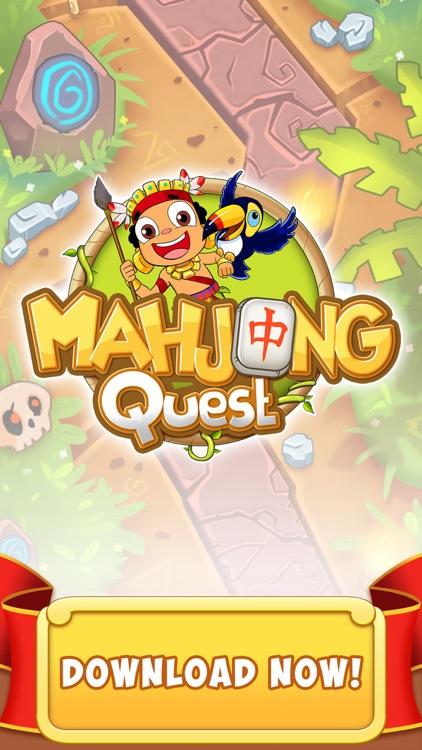Mahjong Quest - Majong Tiles screenshot-4