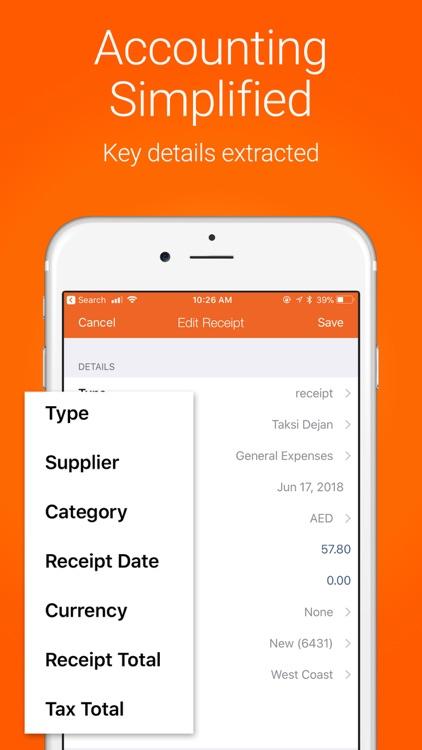 Receipt Bank Scanner & Tracker screenshot-3
