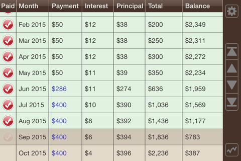 Debt Manager screenshot 4