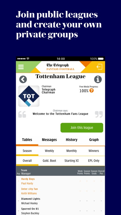 Telegraph Fantasy Football screenshot-3