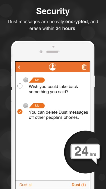 Dust - Private Texting screenshot-3